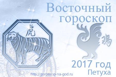 Тигр 2017 год по восточному календарю