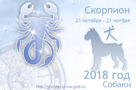 Скорпион 2018 год