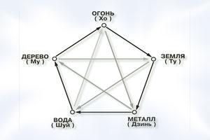 Пять стихий восточного гороскопа