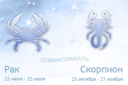 Рак и Скорпион - совместимость